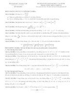 25 đề thi thử đại học môn toán 2015 có lời giải và đáp án chi tiết
