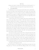 Sáng kiến kinh nghiệm: NÂNG CAO CHẤT LƯỢNG TIẾT SINH HOẠT LỚP Ở KHỐI 4 – 5,