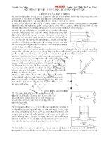 một số bài tập vật lý hay chọn lọc phần điện từ học