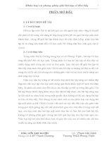 Sáng kiến kinh nghiệm: Phân loại và phương pháp giải bài tập về đòn bẩy
