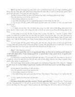 Dạng đề đọc -hiểu văn Chính luận