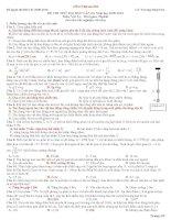Tuyển tập 40 đề + đáp án ôn thi vật lý thpt quốc gia (tệp đính kèm)