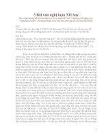 3 Bài văn nghị luận XH hay