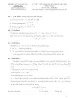 43 đề TS lớp 10 các tỉnh( Cực hay)