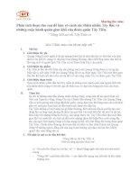 phân tích phần 1 bài thơ Tây Tiến