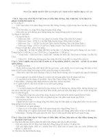 75 câu hỏi lý thuyết ôn thi thpt quốc gia