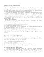 tuyển tập bài tập đọc hiểu đầy đủ khối 12