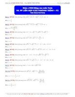 phương pháp liên hợp giải phương trình