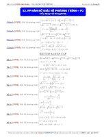 Phương pháp hàm số giải hệ phương trình phần 2