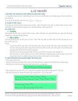 Bài tập phương pháp bảo toàn electron