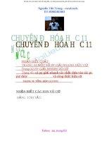 Tổng hợp các chuyên đề hóa học 11