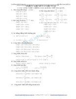 Bài tập toán  giải tích có lời giải chi tiết