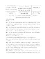 QUY TRÌNH KỸ THUẬT THI CÔNG VÀ NGHIỆM THU LỚP MÓNG CẤP PHỐI ĐÁ DĂM TRONG KẾT CẤU ÁO ĐƯỜNG ÔTÔ 22 TCN 334  06