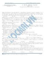 đề thi thử môn vật lí số 3