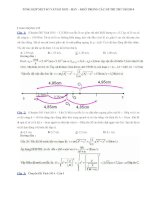 Tổng hợp đề thi thử đại học môn Lý có đáp án