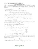 100 bài tập HÌNH học PHẲNG HAY NHẤT (có đáp án)