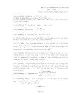 Tổng hợp 30 đề thi thử THPT có đáp án