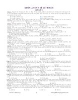 Luyện 10 đề đạt 8 điểm Đề số 2