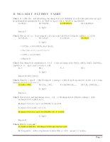 Phân dạng và giải chi tiết lí thuyết và bài tập amin, aminoaxit, peptit, protein