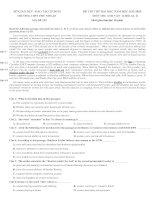 Đề thi thử đại học môn tiếng anh trường THPT phú nhuận, TP  HCM năm 2013 (lần 2)