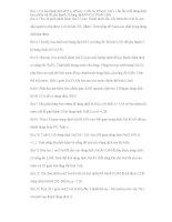 Bài tập về nồng độ dung dịch