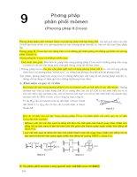Giáo trình phương pháp số trong xây dựng (phương pháp phân phối mô men)