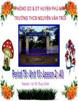 Bài giảng điện tử tham khảo thao giảng, thi GV anh 6 Unit 13 Activities and the seasons (40)
