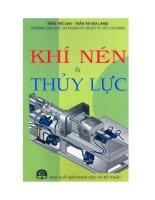 Khí nén và thủy lực phần 1 – trần thế san, trần thị kim lang (đh sư phạm kỹ thuật TP HCM)