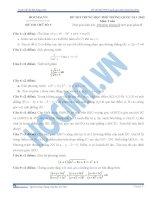đề thi môn toán số 5