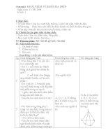 giáo án toán hình học lớp 12 chương 1