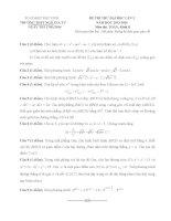 Đề thi thử đại học môn toán lần 2 khối B trường THPT Ngô Gia Tự năm 2013,2014