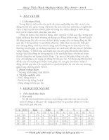 Chuyên đề tiếng Anh Cách ghi nhớ một số động từ bất quy tắc thcs