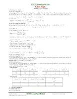 phương pháp giải các bài toán về giới hạn của dãy số và hàm số
