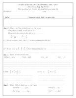 tài liệu ôn tập toán và tiếng việt cuối năm lớp 4