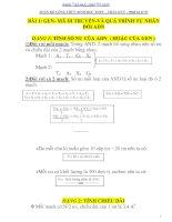 Tổng hợp các công thức sinh học 10, 11, 12 luyện thi ĐH hay