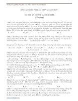 100 bài tập trắc nghiệm dòng điện xoay chiều có đáp án chi tiết