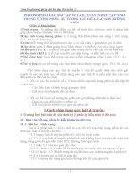 tóm tắt các dạng bài tập và phương pháp giải sinh học 12