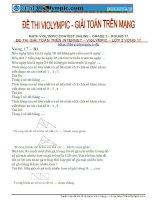 Vòng 17- Violympic toán lớp 2 - 200 bài