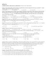 10 đề luyện thi đại học môn vật lý theo cấu trúc của bộ