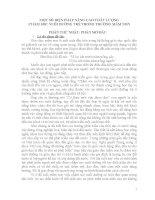 MỘT SỐ BIỆN PHÁP NÂNG CAO CHẤT LƯỢNGCHĂM SÓC NUÔI DƯỠNG TRẺ TRONG TRƯỜNG MẦM NON