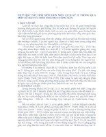 GIÚP HỌC TỐT HƠN MÔN HƠN MÔN LỊCH SỬ 11 THÔNG QUA MỘT SỐ BÀI CỦA MÔN GIÁO DỤC CÔNG DÂN