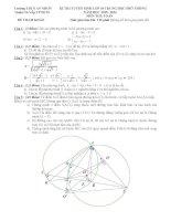 tổng hợp đề ôn thi vào lớp 10 môn toán