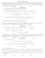 32 Bài tập Dòng điện xoay chiều hay và khó (có lời giải chi tiết)