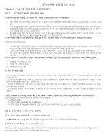 ĐỀ CƯƠNG ÔN TẬP SINH HỌC LỚP 9 – HKII