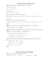tuyển tập các bài toán tiểu học cực hay