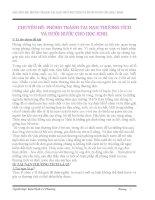 CHUYÊN ĐỀ PHÒNG TRÁNH TAI NẠN THƯƠNG TÍCH VÀ ĐUỐI NƯỚC CHO HỌC SINH