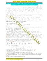 Bài tập kim loại tác dụng với HNO3