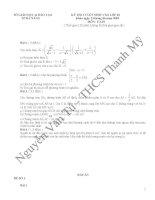 tuyển tập các đề thi môn toán vào lớp 10