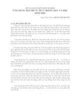 ĐỀ TÀI SÁNG KIẾN KINH NGHIỆM ỨNG DỤNG BẢN ĐỒ TƯ DUY TRONG DẠY VÀ HỌC SINH HỌC