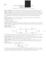 bộ đề thi học sinh giỏi vật lý lớp 9 hay